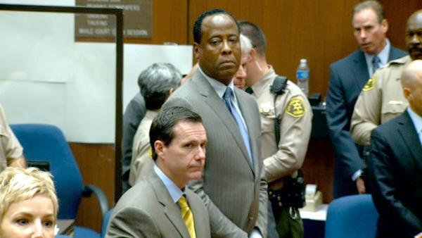 Dr. Conrad Murray is seen awaiting the verdict in the Conrad Murray trial on Monday, Nov. 7, 2011.
