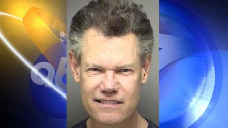 Country singer Randy Travis is shown in a mug shot, provided by the Sanger Police Department.