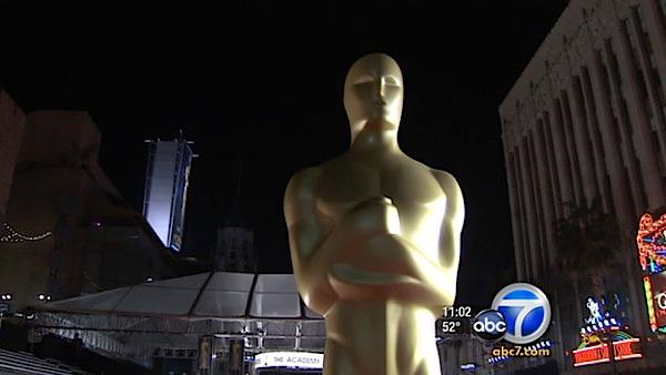 Oscar final touchups, preparations under way