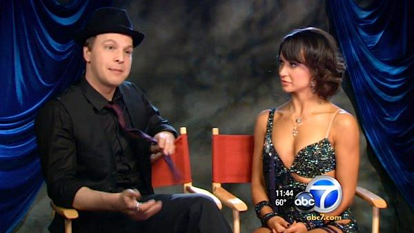 'Dancing With The Stars' competitor GAVIN DEGRAW didn't get dancing gene