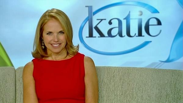 Katie Couric talks about new daytime show
