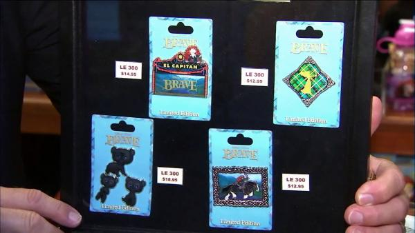 'Brave' fans line up to buy collectible pins