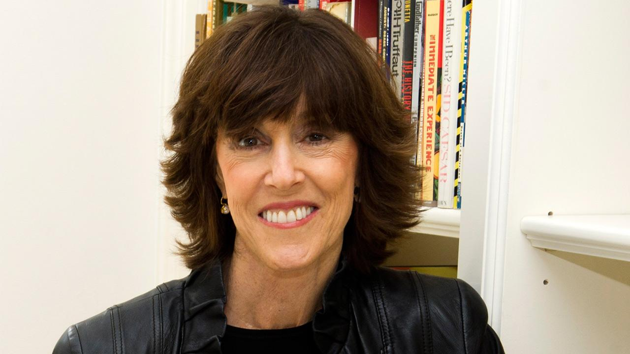 In this Nov. 3, 2010 photo, author and filmmaker Nora Ephron poses for a photo at her home in New York.Charles Sykes