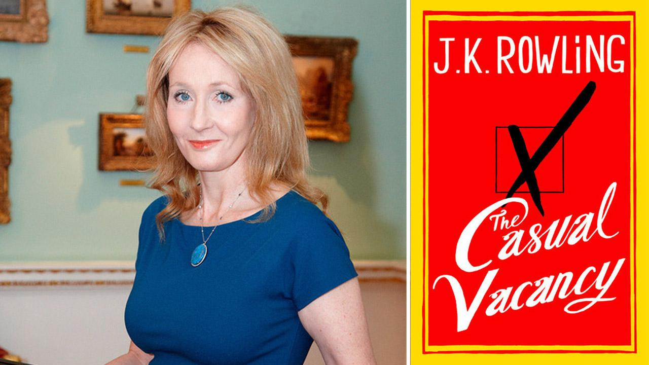 Publishers released the cover of author J.K. Rowlings new novel, The Casual Vacancy, on Tuesday, July 3, 2012.