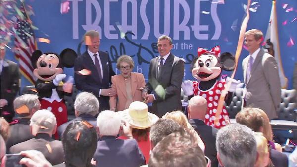 Reagan Library welcomes Disney Archives
