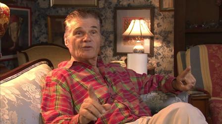Fred Willard appears in an interview with Eyewitness News reporter George Pennacchio in July 2012.