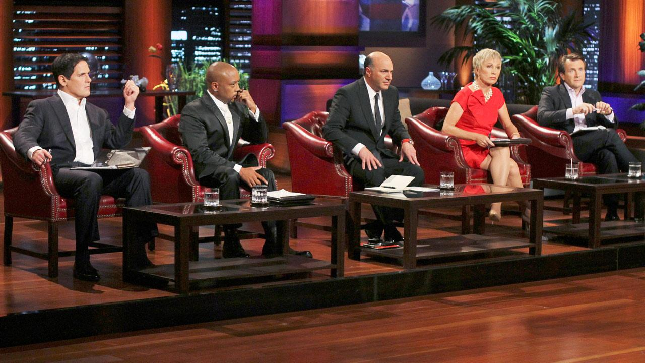 Still image from the ABC show Shark Tank.Michael Ansell