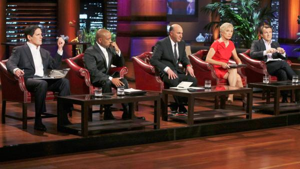 Still image from the ABC show 'Shark Tank.'