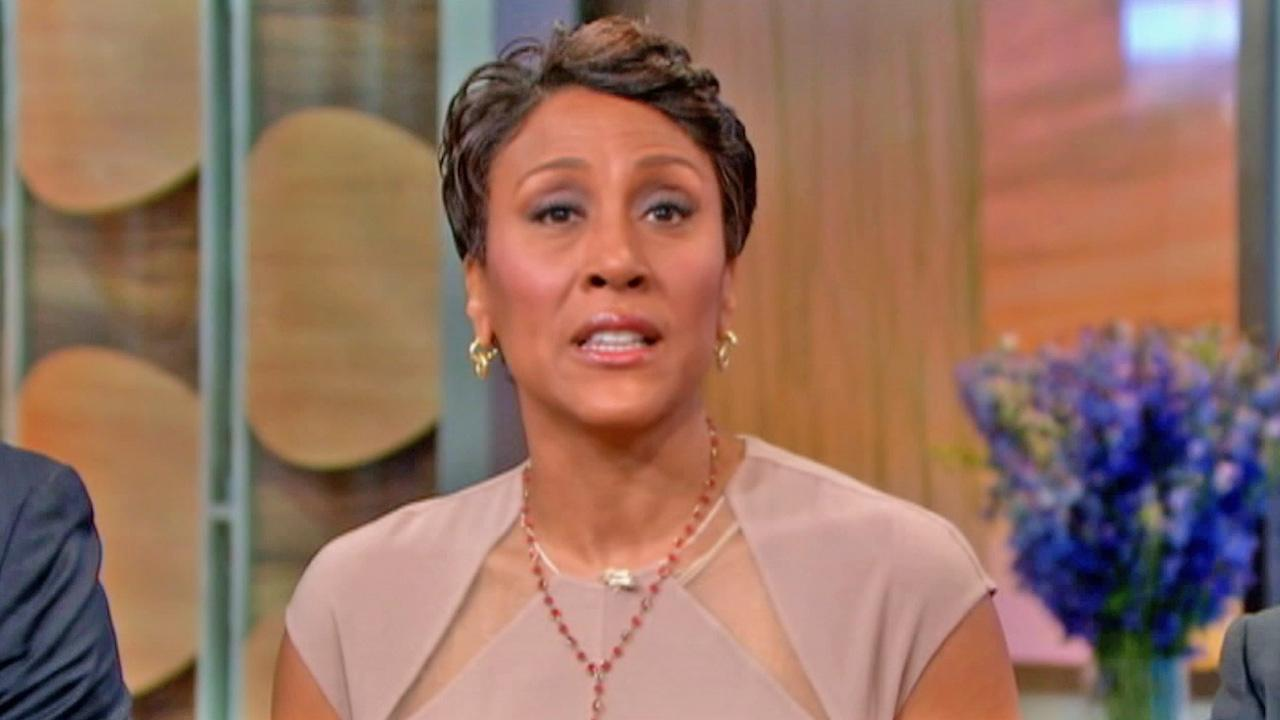 Good Morning America anchor Robin Roberts appears in this June photo.