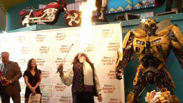 Ripley's Believe It or Not museum reopens