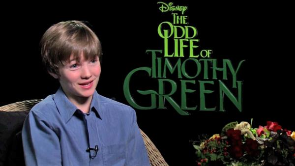 'Timothy Green' star talks about film, future