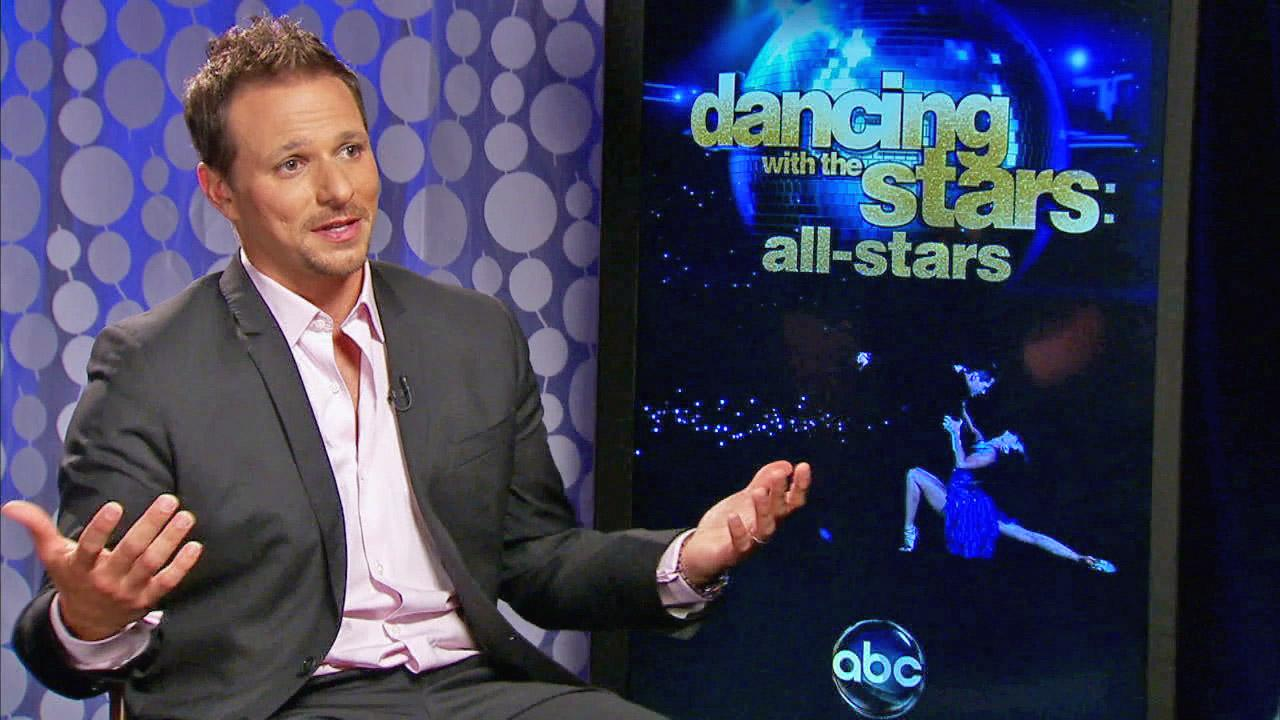 Drew Lachey discusses appearing on Dancing With The Stars: All-Stars in this file photo from 2012.