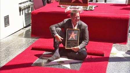 Vince Gill received a star on the Hollywood Walk of Fame on Thursday, Sept. 6, 2012.