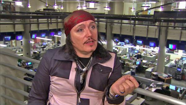 Singer Adam Ant returns to the music scene