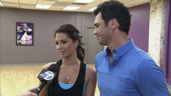 'DWTS' celebs anticipate tough competition
