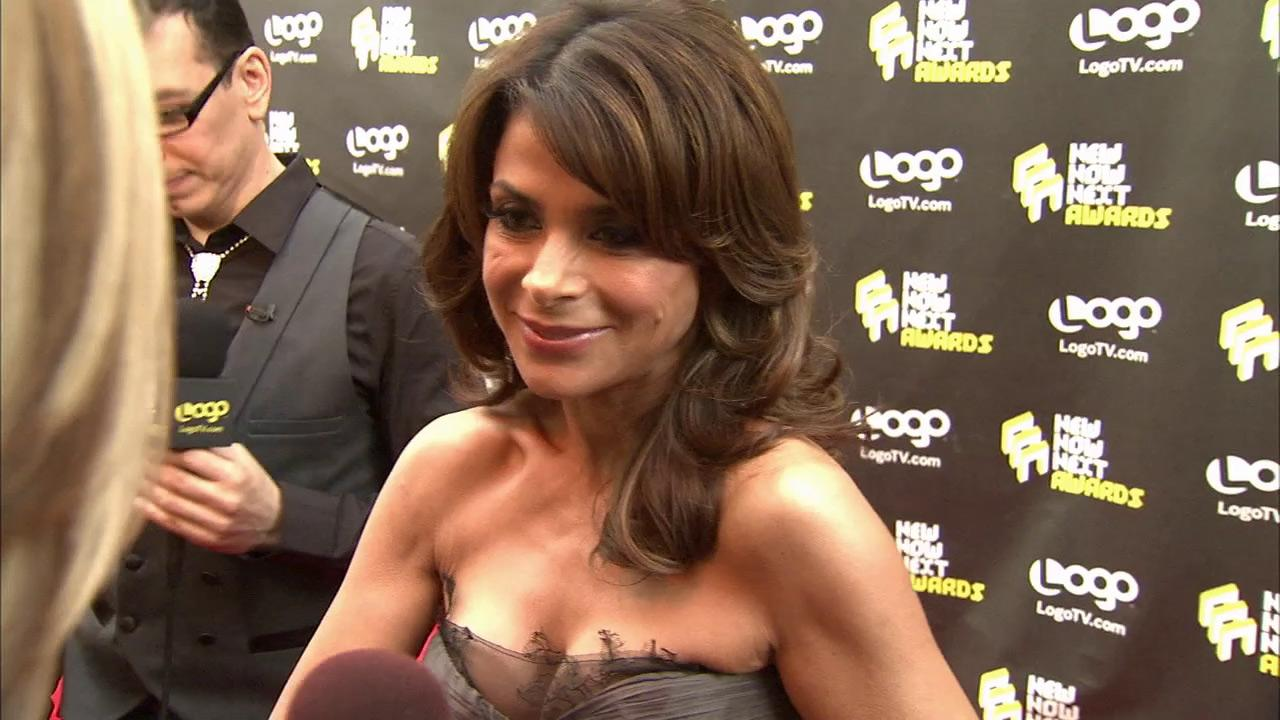 Paula Abdul arrives at Logos 3rd annual NewNowNext Awards in Los Angeles on June 8, 2010.