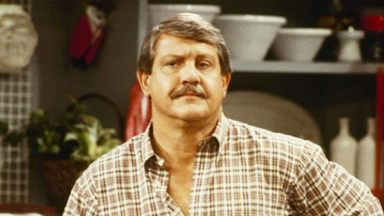 Alex Karras in a scene from the ABC sitcom, Webster.
