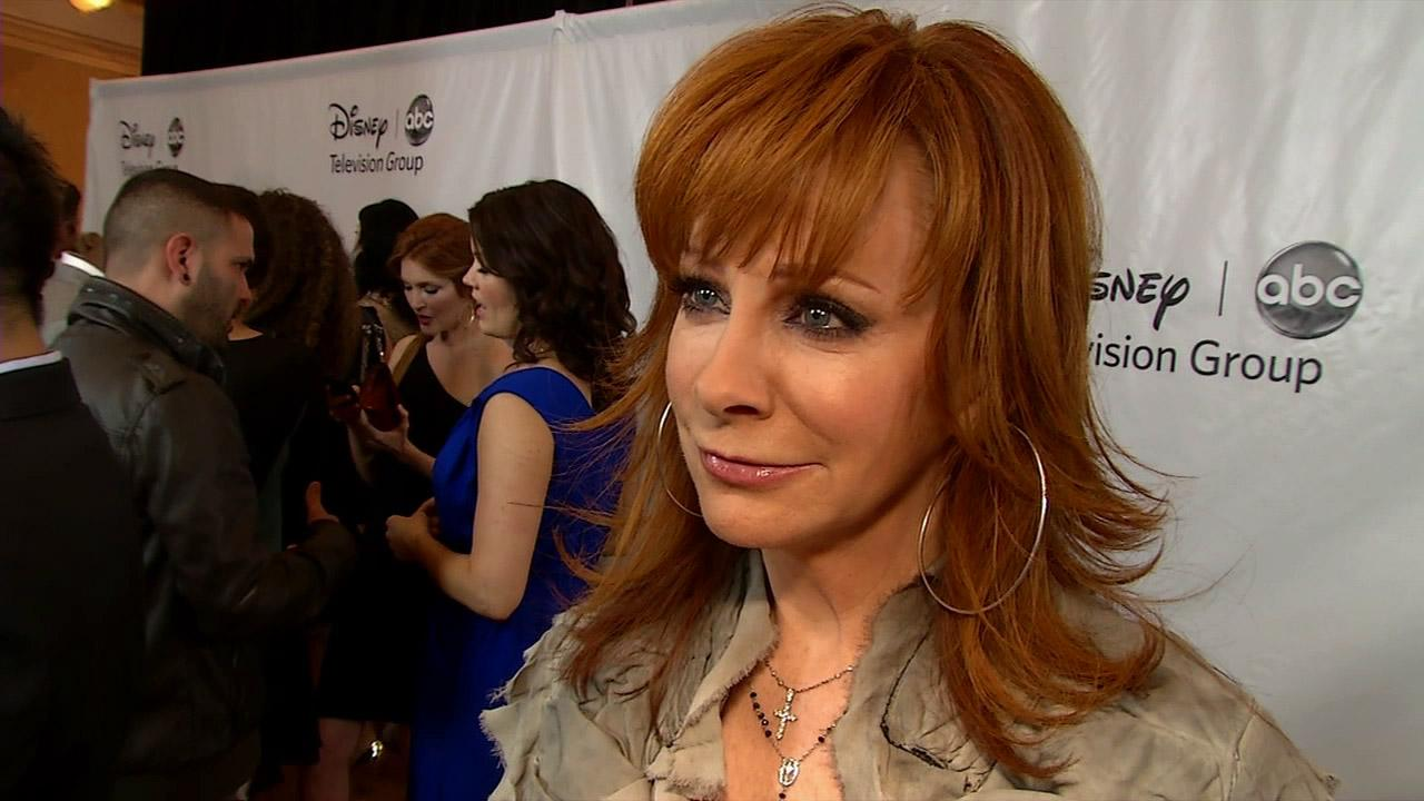 Reba McEntire in an interview with KABC in this file photo from October 2012.