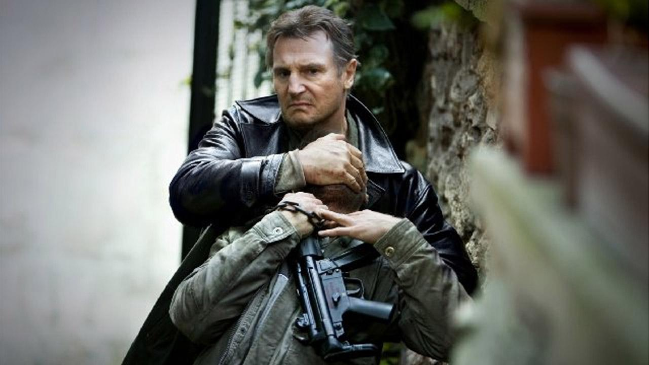 Liam Neeson appears in a scene from the 2012 film, Taken 2.