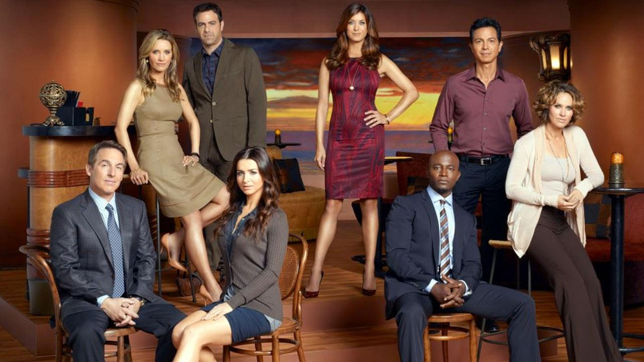 The stars of ABCs Private Practice appear in a promotional photo on the shows Facebook page.
