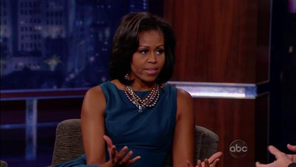 Michelle Obama appears on 'Jimmy Kimmel Live'