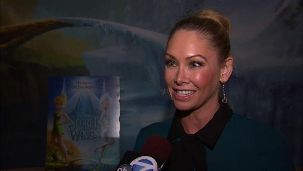 Kym Johnson at special Tinker Bell screening