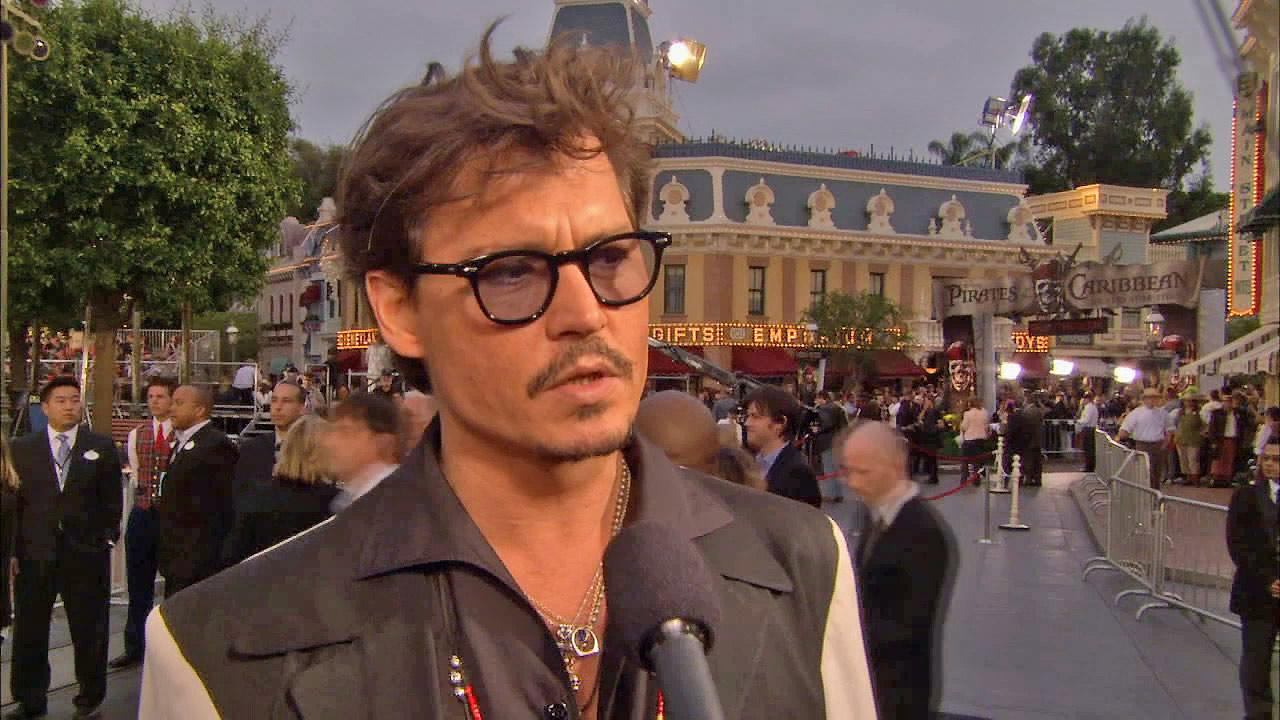 Johnny Depp is seen in this undated file photo.