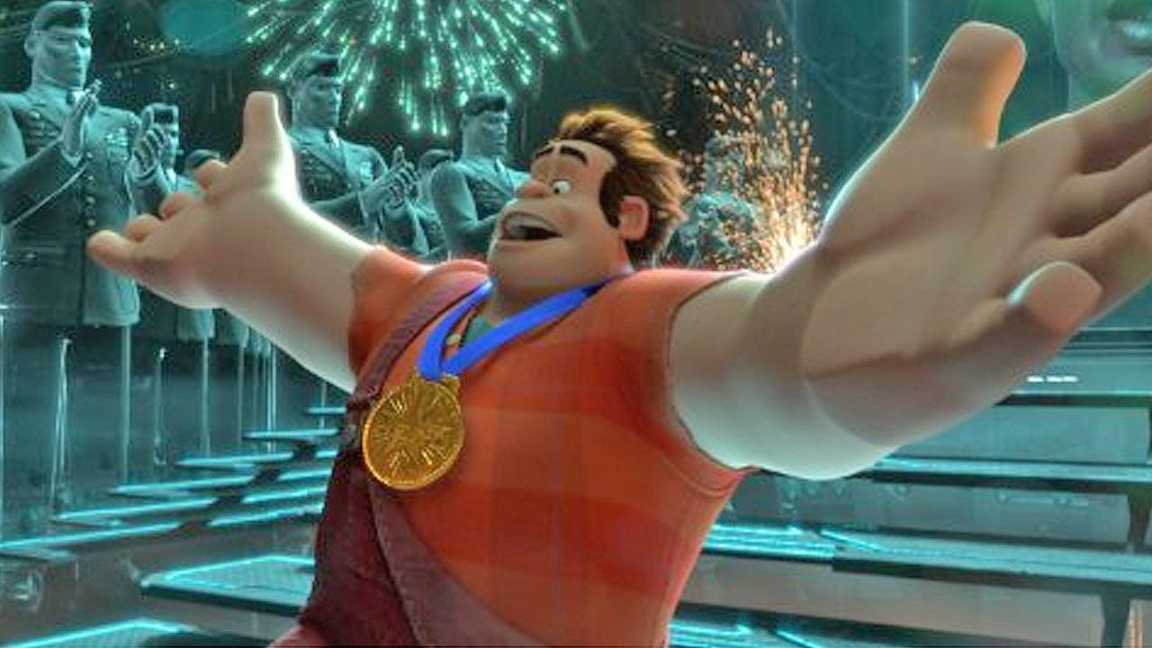 A still image from the film Wreck-It Ralph.