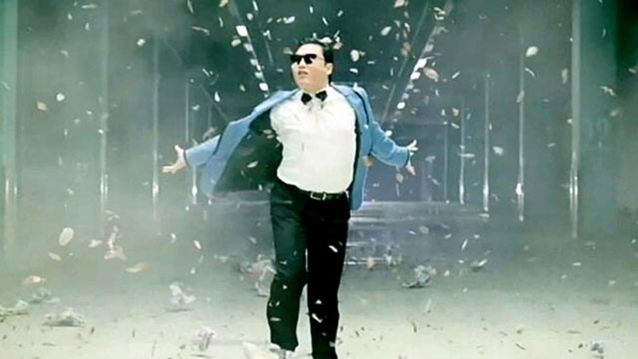 South Korean rapper PSY released his music video Gangnam Style in July, and since has gone viral.