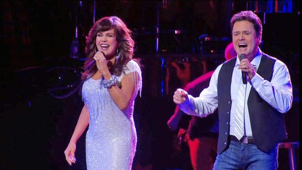 Donny and Marie bring Christmas show to LA