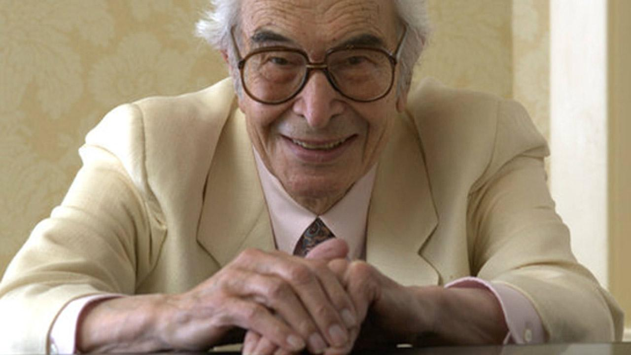 Jazz composer and pianist Dave Brubeck appears in a photo from his website, www.davebrubeck.com. Brubeck died of heart failure, according to his manager, on Wednesday, Dec. 5, 2012.www.davebrubeck.com