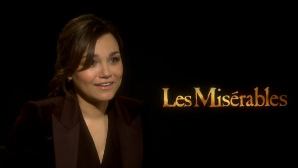 'Les Mis' is first film for Samantha Barks