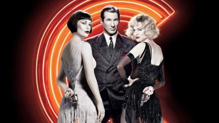 Catherine Zeta-Jones, Richard Gere and Renee Zellweger in a promotional photo for the 2002 film, Chicago.