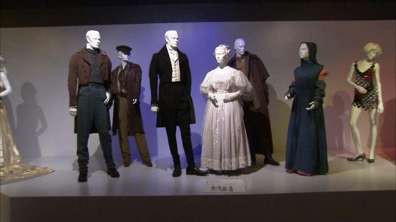 Costumes from the film Les Miserables on display at the Fashion Institute of Design and Merchandisings 21st annual Art of Motion Picture Costume Design in downtown Los Angeles.