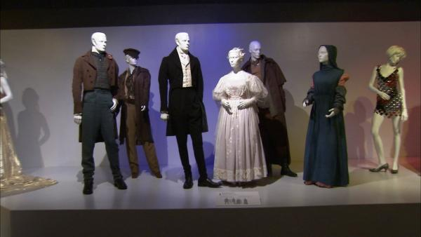 Costumes from the film 'Les Mis�rables' on display at the Fashion Institute of Design and Merchandising's 21st annual Art of Motion Picture Costume Design in downtown Los Angeles.