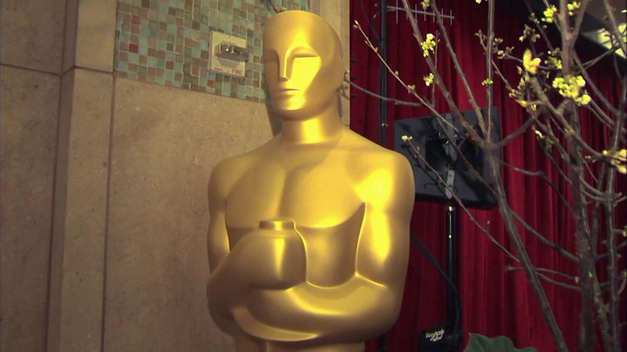 An Oscar statue is shown in this February 2013 photo in Hollywood.