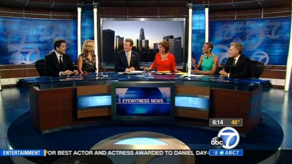 'GMA' anchors discuss Oscar coverage on ABC7
