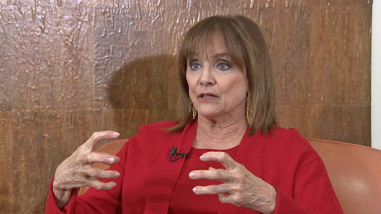 Valerie Harper talks candidly about her cancer diagnosis on Tuesday, March 12, 2013.