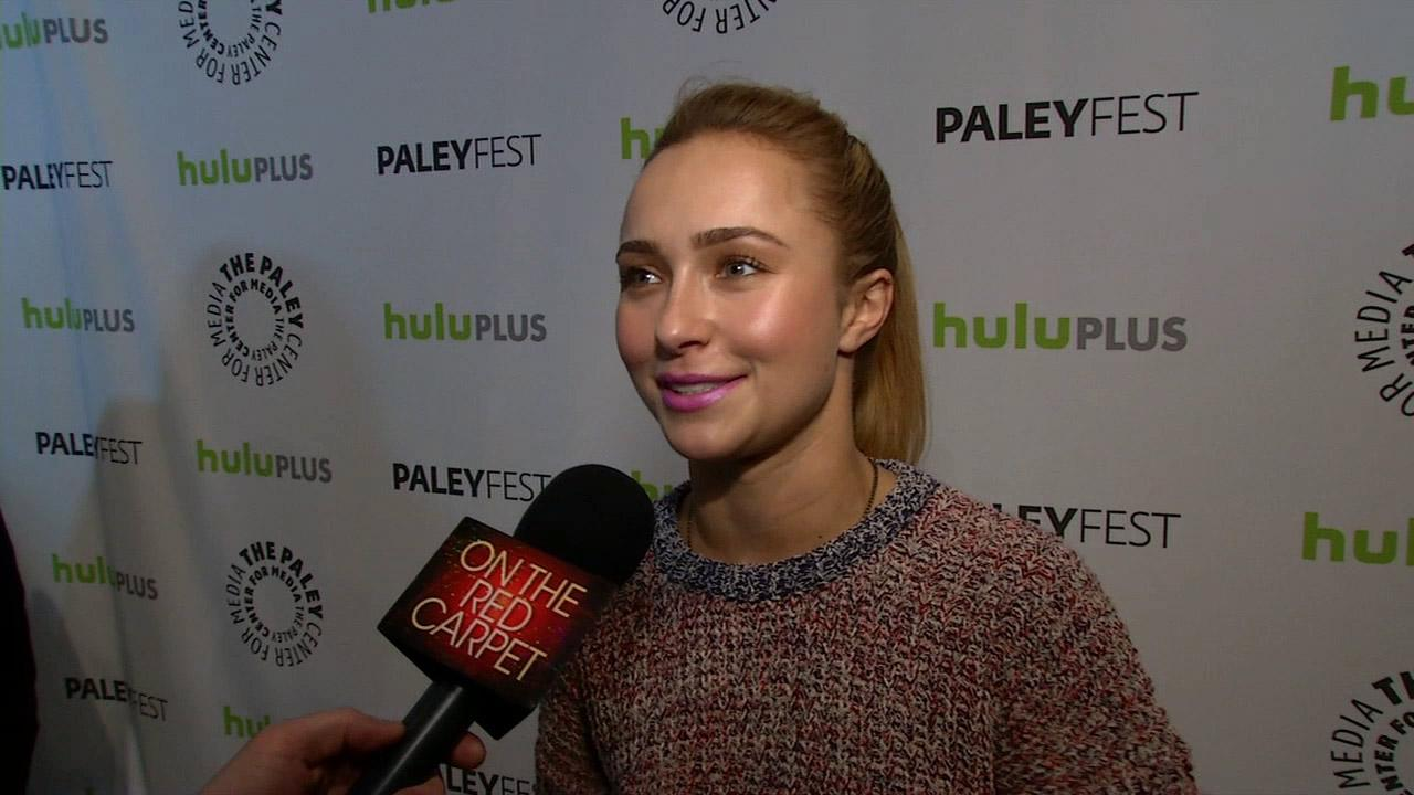 Hayden Panettiere talks to On The Red Carpet at PaleyFest 2013.