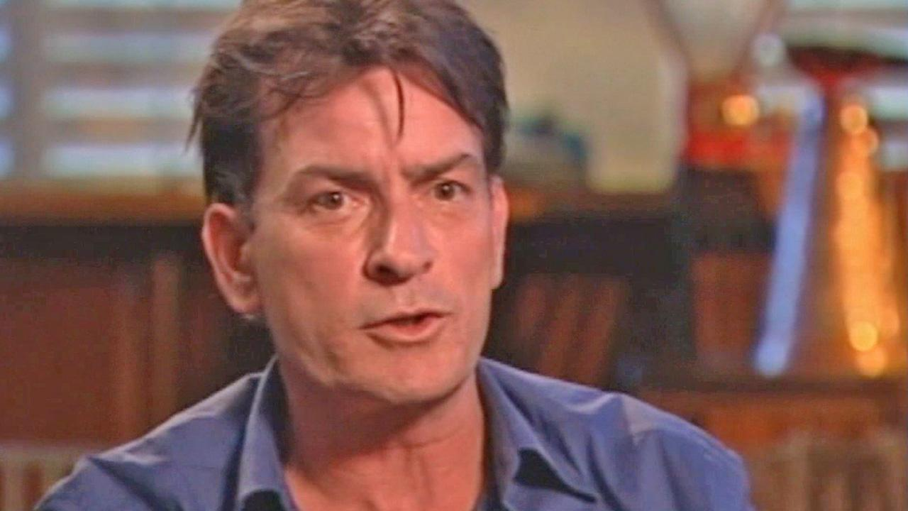Charlie Sheen is seen.
