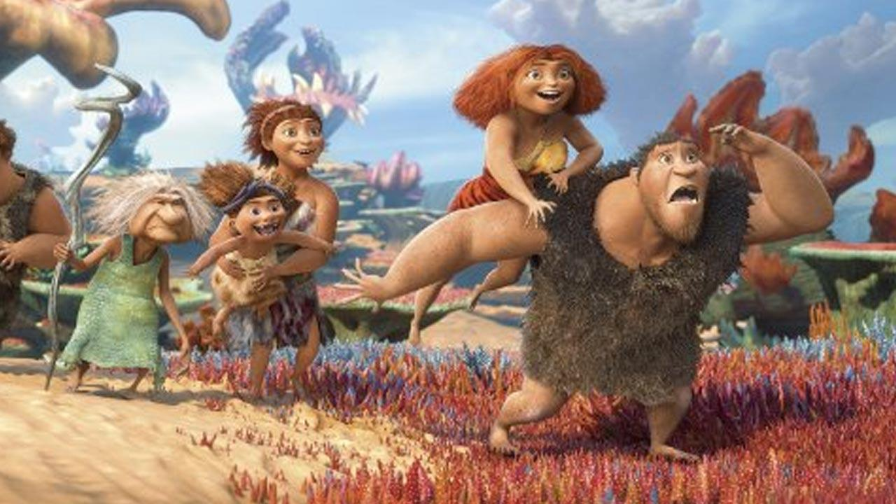 Still from the 2013 film The Croods.