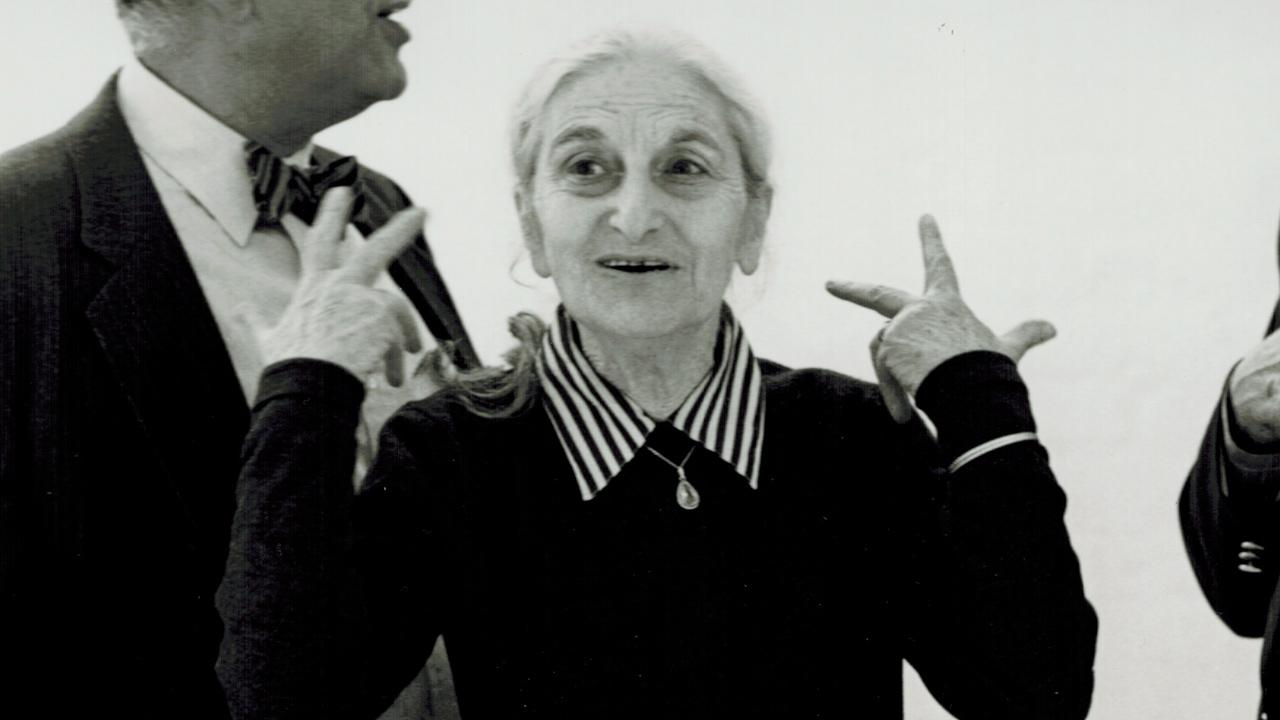 This undated publicity photo provided by Merchant Ivory Productions shows Oscar-winning screenwriter and award-winning novelist Ruth Prawer Jhabvala.Merchant Ivory Productions