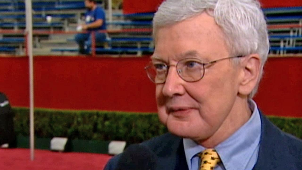 Film critic Roger Ebert is seen in this undated file photo.