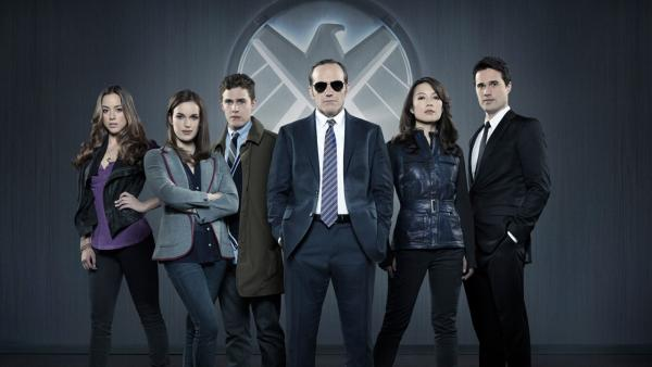 The cast of the new ABC drama 'Marvel's Agents of S.H.I.E.L.D.', set to premiere this fall.