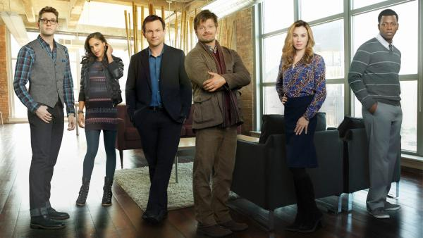 The cast of the new ABC drama 'Mind Games,' set to premiere next season.