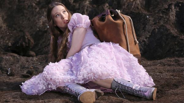 Sophie Lowe, as Alice, appears in this promotional photo for the new ABC drama 'Once Upon a Time in Wonderland,' set to premiere this fall.
