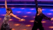 Shake It Up actress Zendaya and partner Val Chmerkovskiy dance the Cha Cha relay on week 10 of Dancing With The Stars on May 20, 2013. They came in first place and received 5 additional points from the judges.