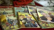 Captain Kangaroo books are seen on display on Tuesday, May 21, 2013.