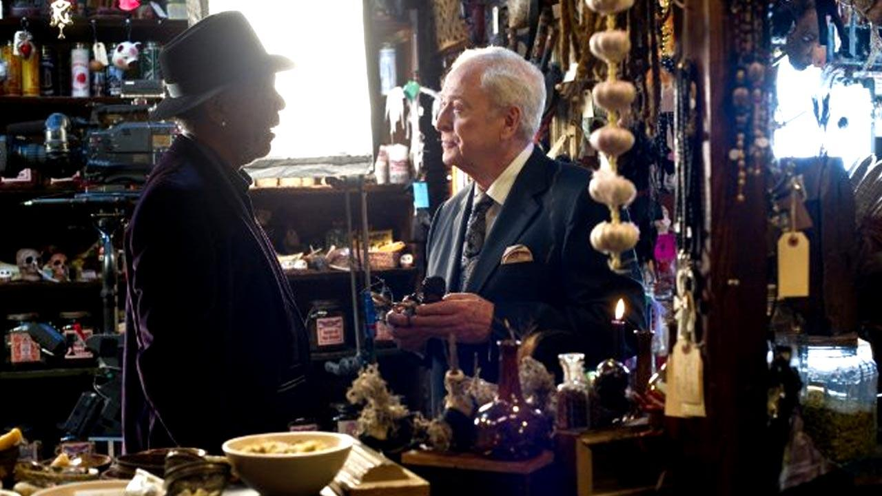 Still of Morgan Freeman and Michael Caine in the 2013 film Now You See Me.