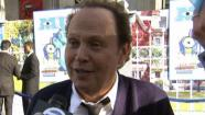 Billy Crystal talked to Eyewitness News on the blue carpet at the Monsters University Hollywood premiere on Monday, June 17, 2013.